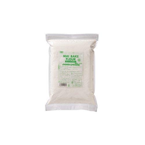 マイベイクフラワーという米粉が袋に入っている